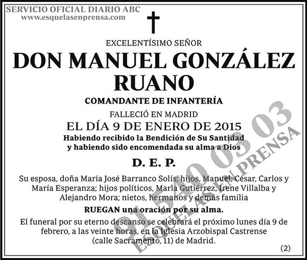 Manuel González Ruano